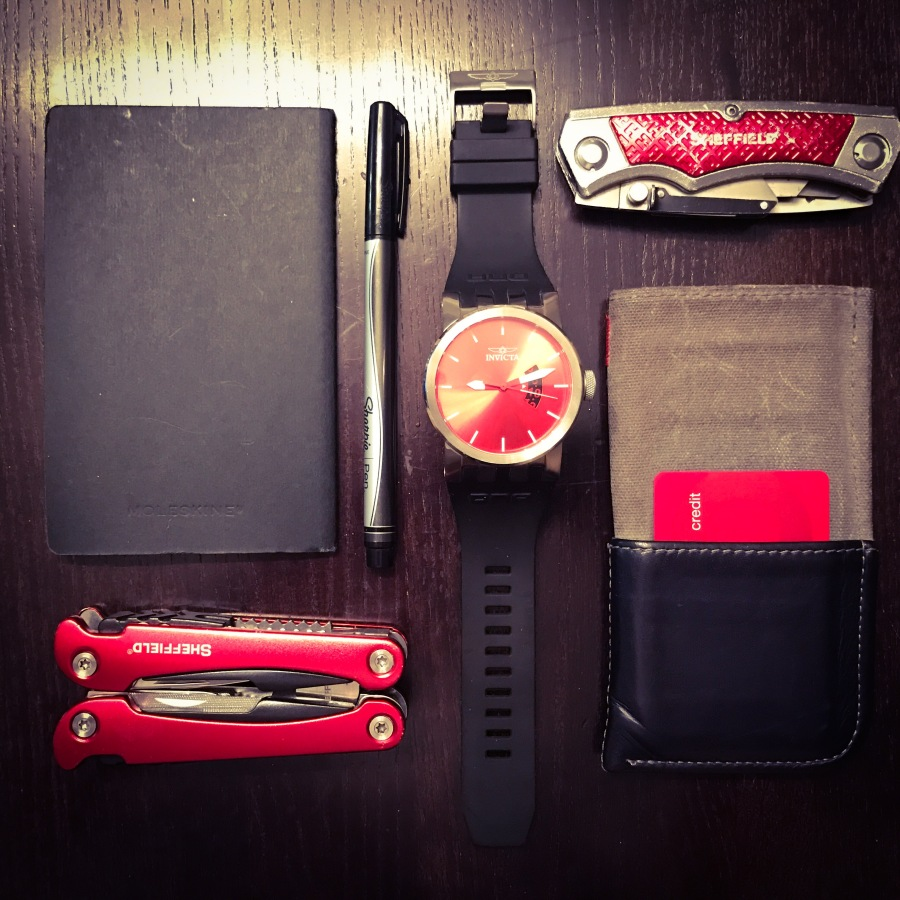 EDC: Seeing Red